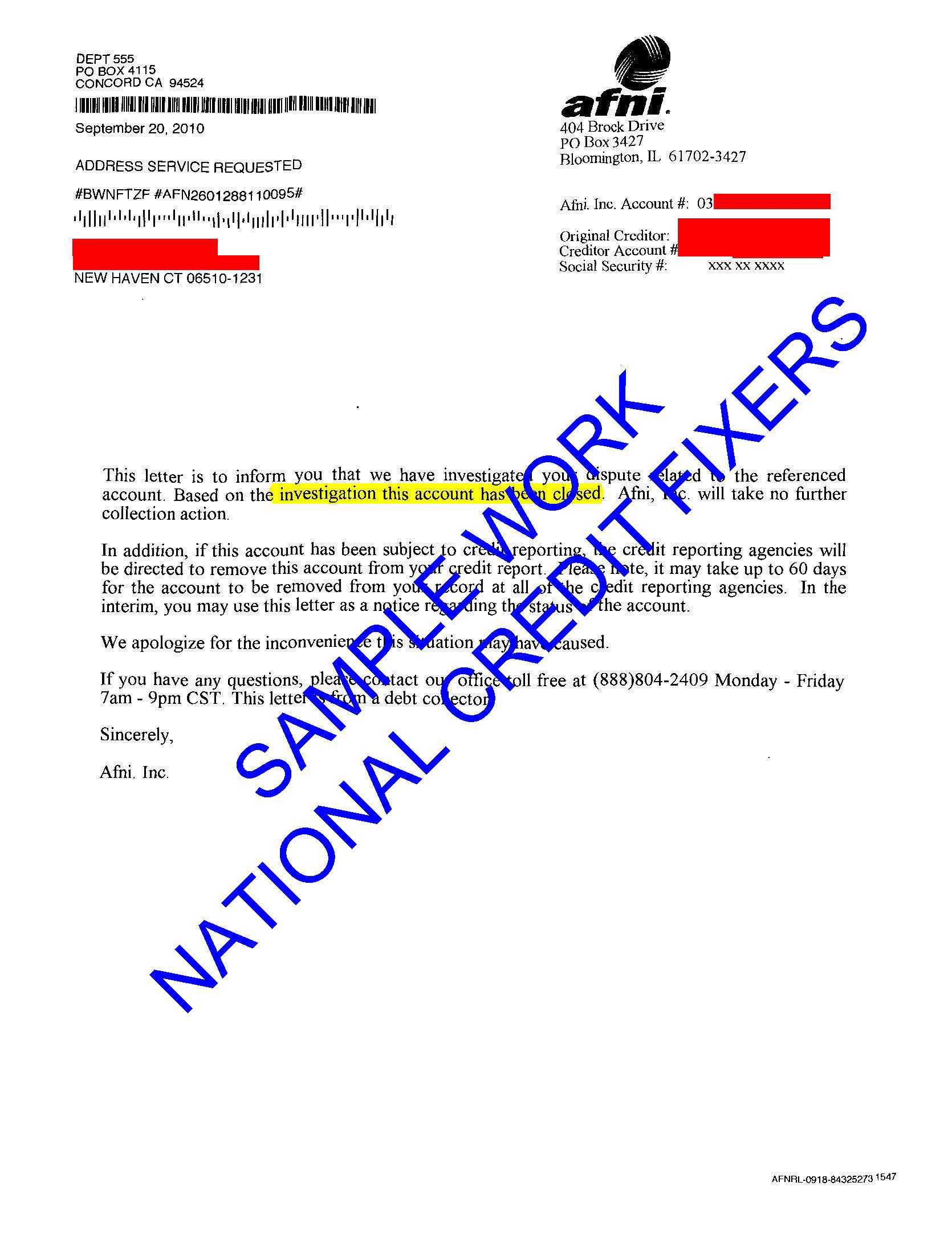 Anderson Financial Network Deletion Letter 3